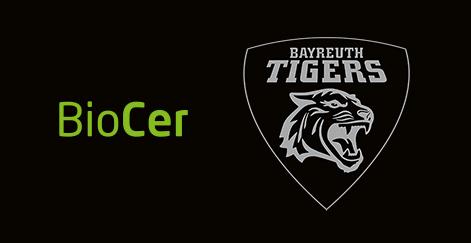 BioCer ist Partner der Bayreuth Tigers   BioCer