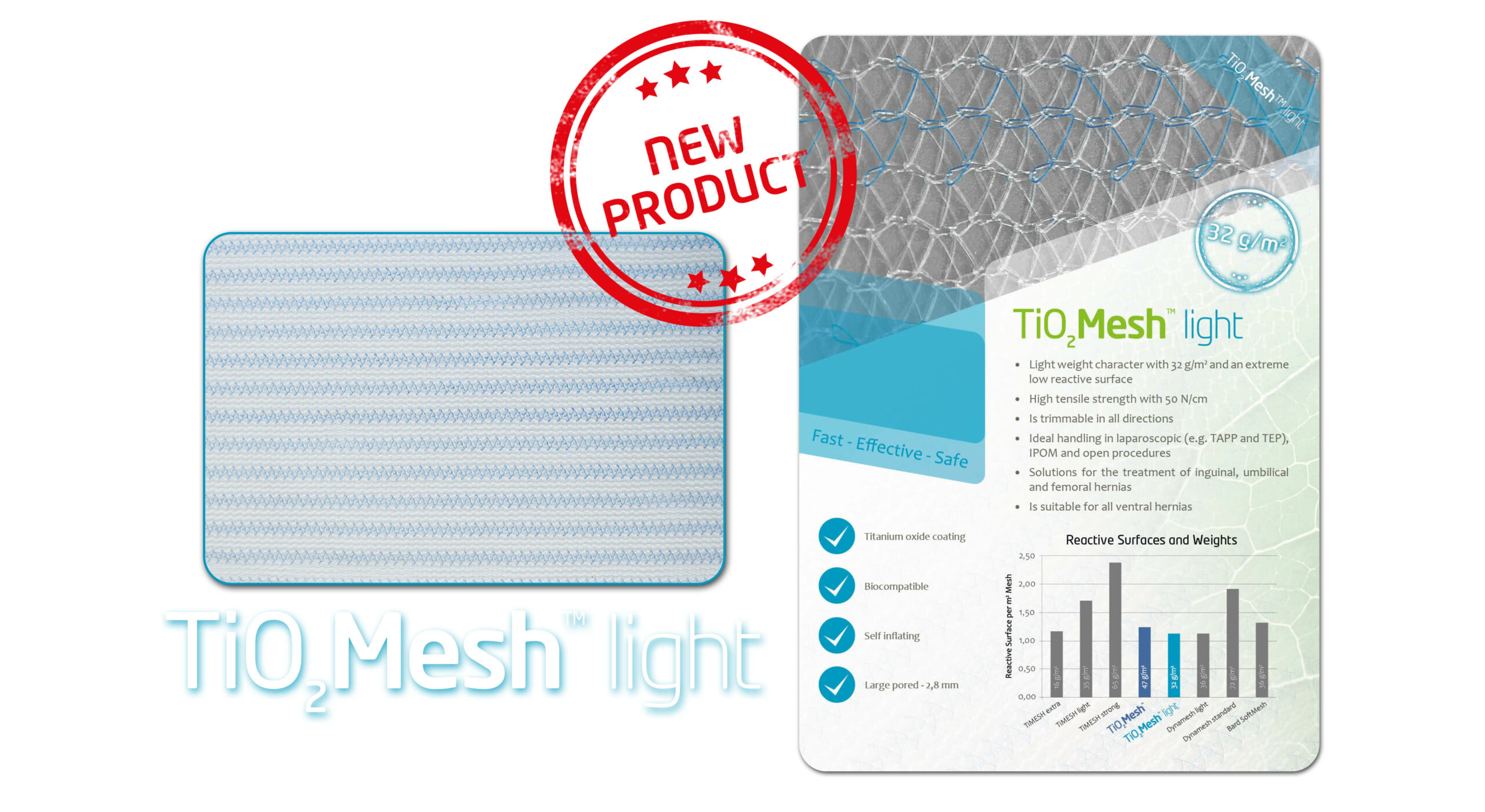 TiO2Mesh light | BioCer