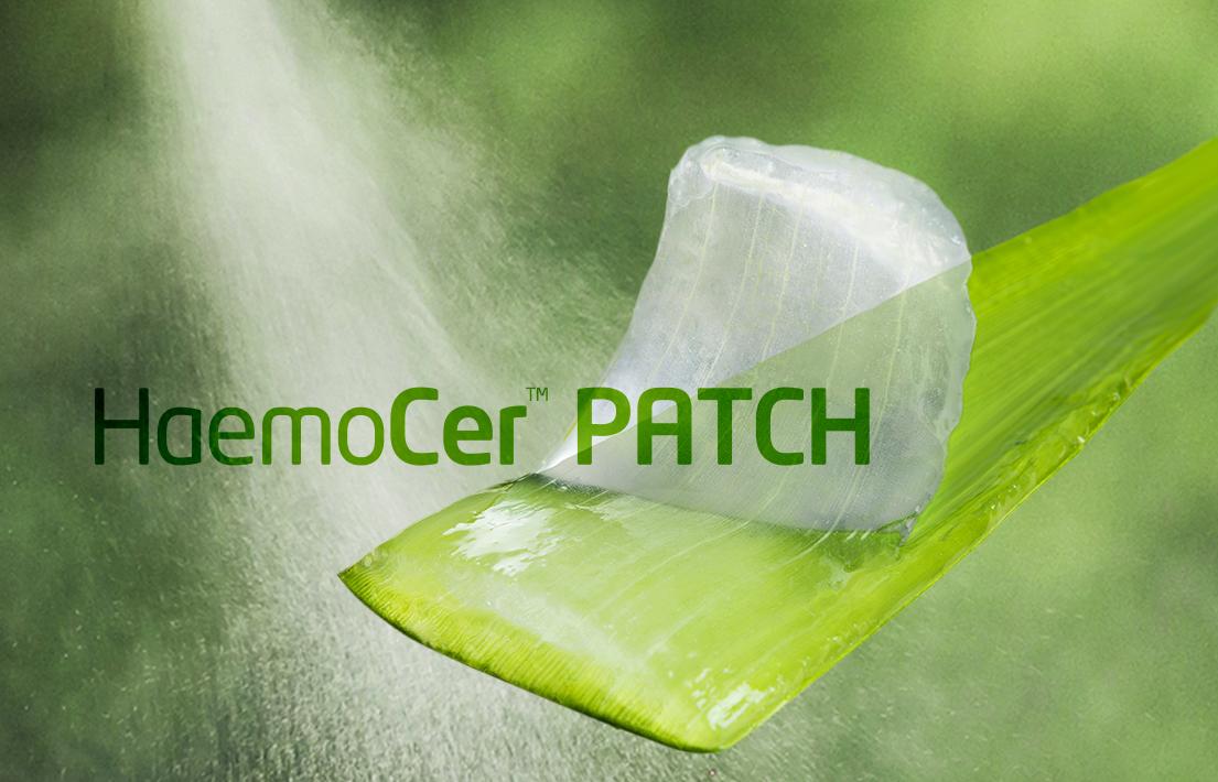 natural haemostasis   HaemoCer PATCH     BioCer