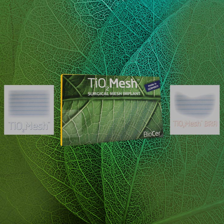 TiO2Mesh | BioCer
