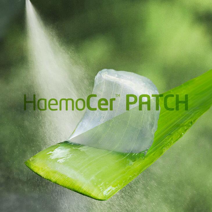 Natürliche Blutstillung | HaemoCer PATCH | | BioCer