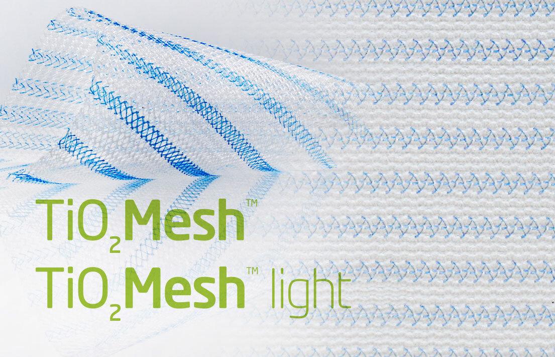 TiO2Mesh und TiO2Mesh light | BioCer